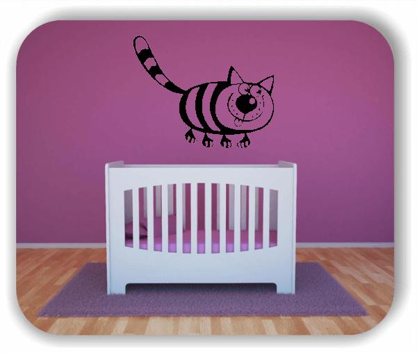 Wandtattoo - Freche Katze