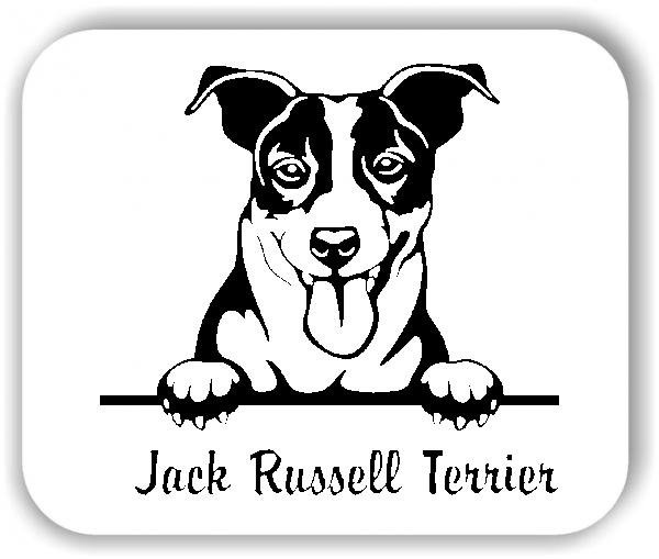 Wandtattoo - Hunde - Jack Russell Terrier Variante 2