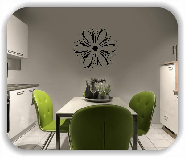 Wandtattoo - Florale Dingbats - ab 50x50 cm - Motiv 4102