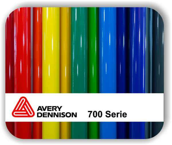 Selbstklebefolie - Avery 700 - Glänzend - 123 cm Rollenbreite