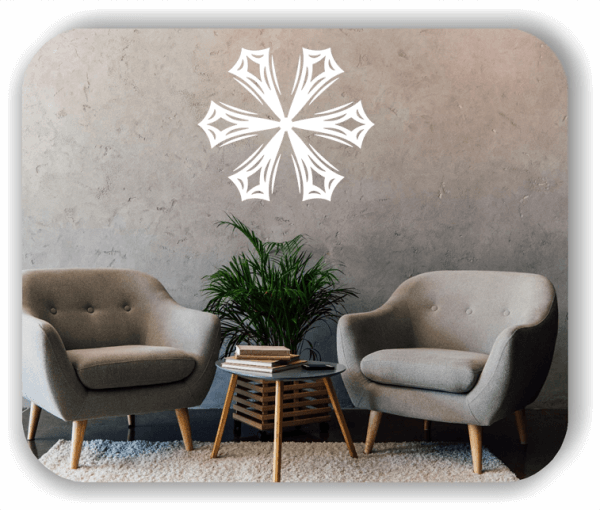 Wandtattoo - Snowflakes - ab 50x43 cm - Motiv 2577
