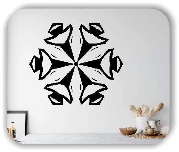 Wandtattoo - Snowflakes - ab 50x43 cm - Motiv 2588