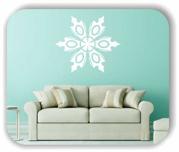 Wandtattoo - Snowflakes - ab 50x43 cm - Motiv 2561