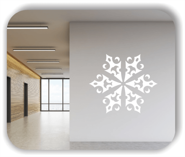 Wandtattoo - Snowflakes - ab 50x43 cm - Motiv 2589