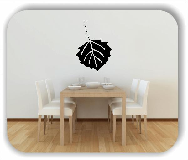 Wandtattoo - ab 50x70cm - Blätter - Motiv 8242