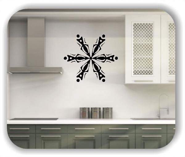 Wandtattoo - Snowflakes - ab 50x43 cm - Motiv 2544
