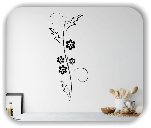 Wandtattoo - Japan Floral - ab 25x60 cm - Motiv 3255