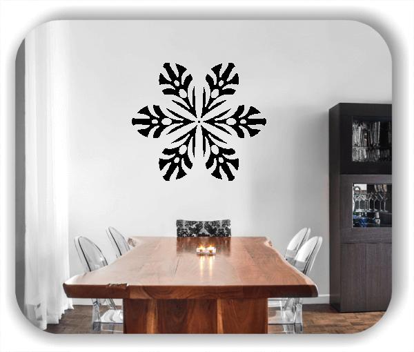 Wandtattoo - Snowflakes - ab 50x43 cm - Motiv 2572