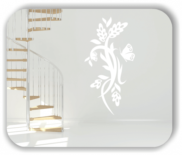 Wandtattoo - China Floral - ab 50x97,5 cm - Motiv 3188