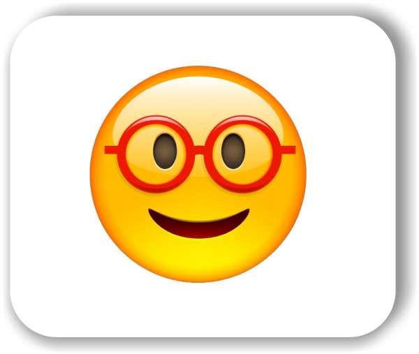 Strichgesicht - mit riesiger Brille
