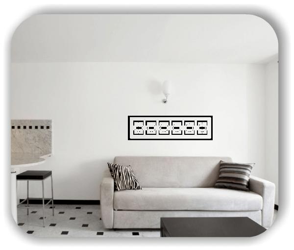 Wandtattoo - Mexican Design - Motiv 45
