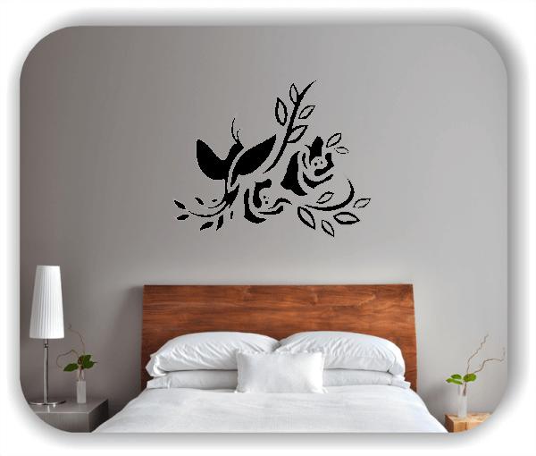Wandtattoo - China Floral - ab 50x40 cm - Motiv 3138