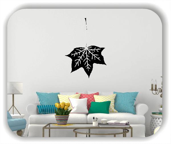 Wandtattoo - ab 50x70cm - Blätter - Motiv 8240