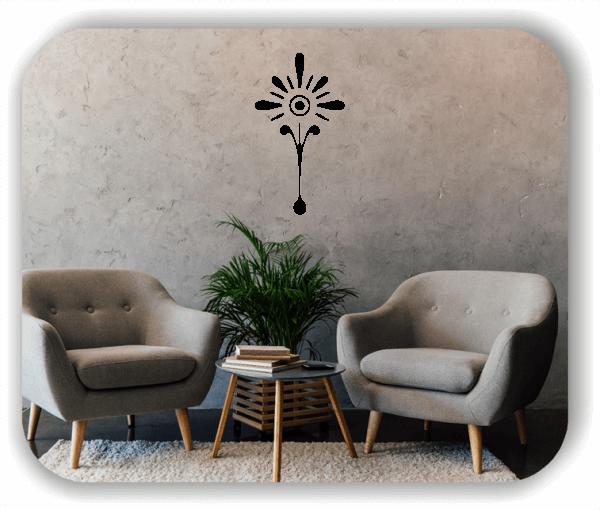 Wandtattoo - Schnittblumen - ab 28x50 cm - Motiv 9029