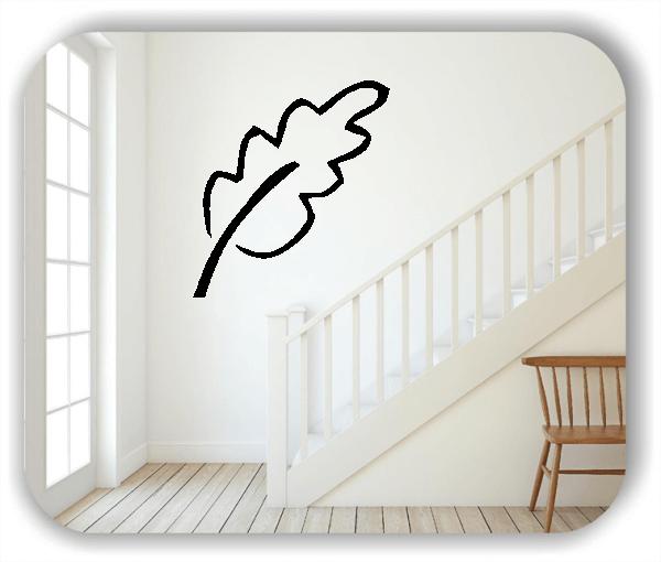 Wandtattoo - ab 50x55cm - Blätter - Motiv 8260
