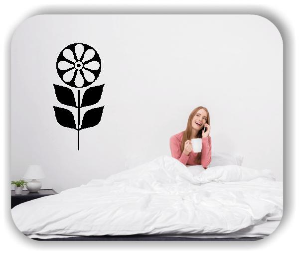 Wandtattoo - Schnittblumen - ab 25x50 cm - Motiv 9022