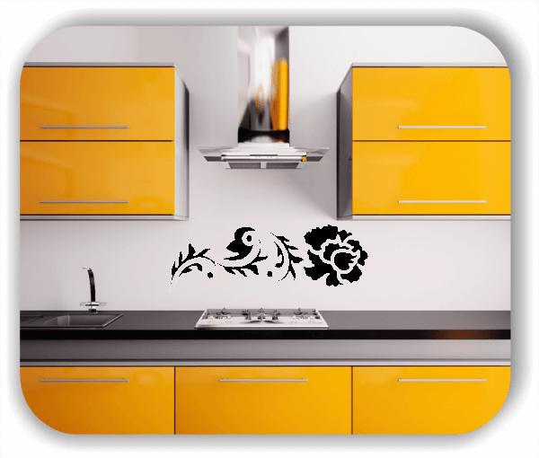 Wandtattoo - China Floral - ab 50x17 cm - Motiv 3107