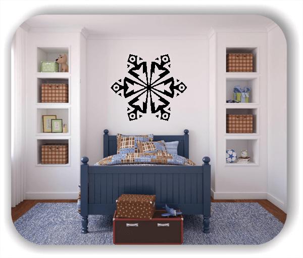 Wandtattoo - Snowflakes - ab 50x43 cm - Motiv 2547