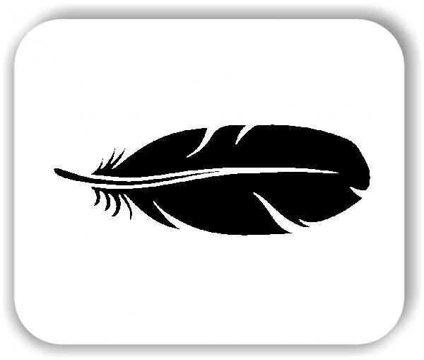 Wandtattoo - Federn - VPE: 1 Stück - Motiv 3