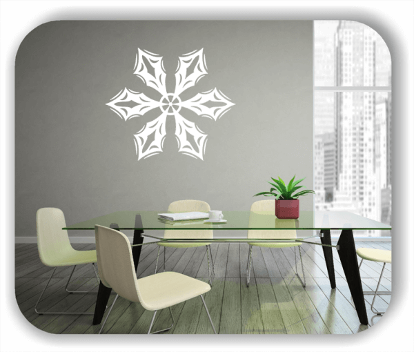 Wandtattoo - Snowflakes - ab 50x43 cm - Motiv 2571