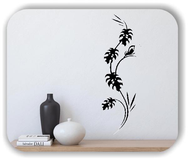 Wandtattoo - Japan Floral - ab 20x60 cm - Motiv 3280