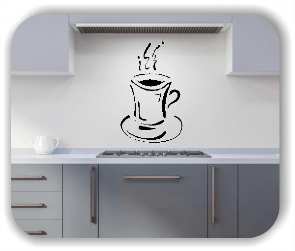 Wandtattoo - Cappuccino Becher