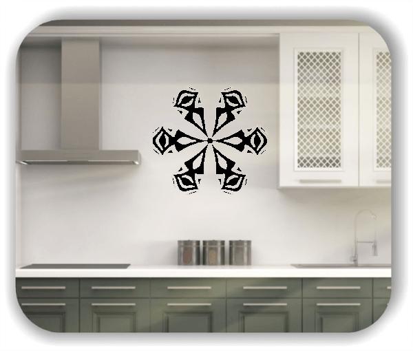 Wandtattoo - Snowflakes - ab 50x47 cm - Motiv 2520