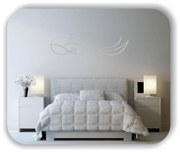 Wandtattoo - Schnörkel Design - ab 60 x 18 cm - Motiv 08