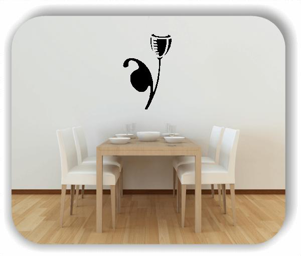 Wandtattoo - Schnittblumen - ab 32x50 cm - Motiv 9039