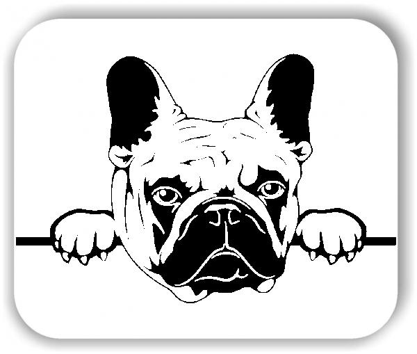 Wandtattoo - Hunde - Französische Bulldogge Variante 4 - ohne Rassename