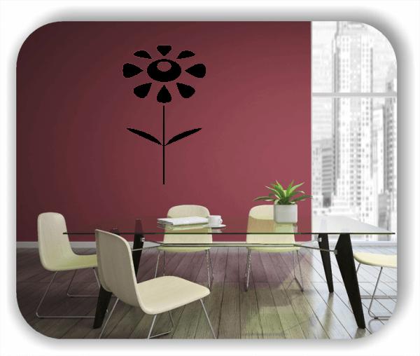 ❤ Wandtattoo ❤ - Schnittblumen - ab 30x50 cm - Motiv 9034