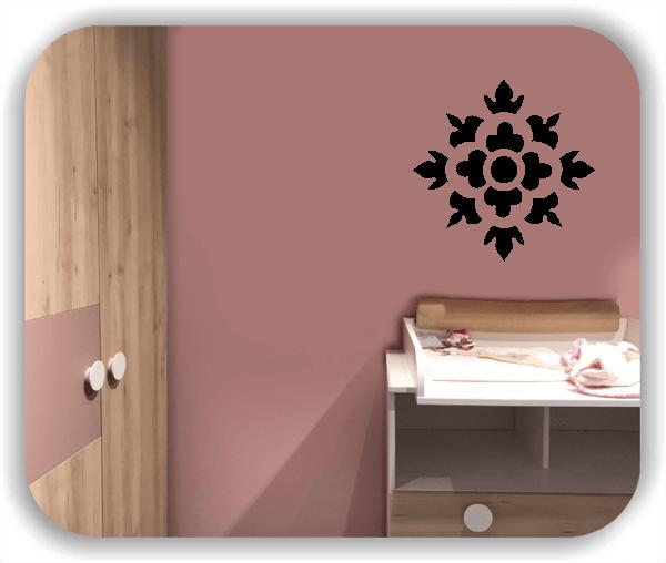 Wandtattoo - Florale Dingbats - ab 50x50 cm - Motiv 4117