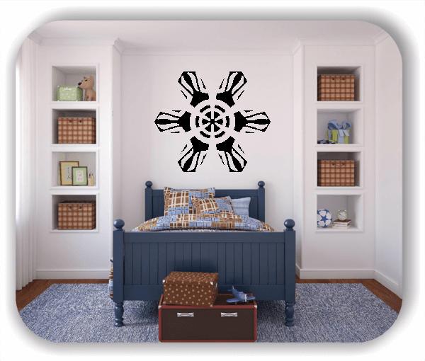Wandtattoo - Snowflakes - ab 50x43 cm - Motiv 2537
