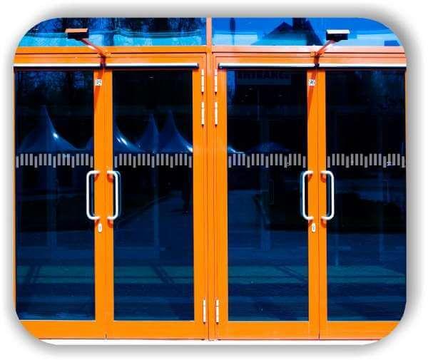 Durchlaufschutzfolie - Zuschnitt 10 cm Höhe - versetzte Horizontale Streifen